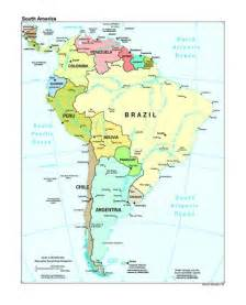 south america physical map memes