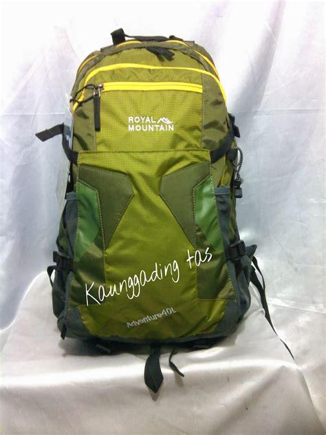 Royal Mountain 40litre tas laptop keren murah dan berkualitas polo classic