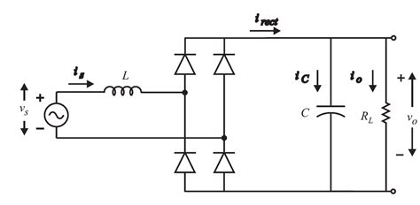 inductor filter wave rectifier filter is it possible to calculate the load resistance in a bridge rectifier when given
