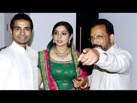 celebrities at samvritha suni's wedding reception youtube