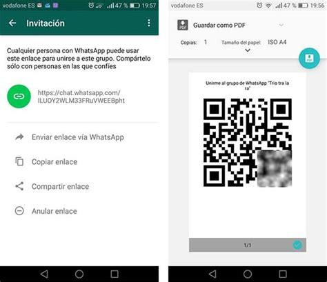 tutorial para whatsapp gratis c 243 mo crear un enlace p 250 blico para a 241 adir personas a un