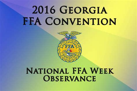 National Backyard Week 2016 2016 State Convention National Ffa Week