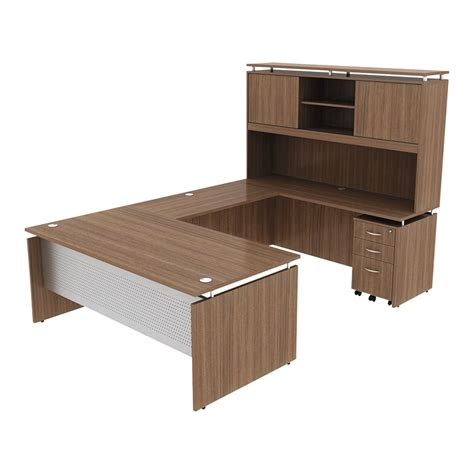 modern desk set modern walnut executive desk set eurway modern