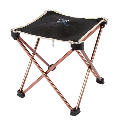 Folding Travel Stool by Folding Stool Travel Chair Soft Seat Fishing