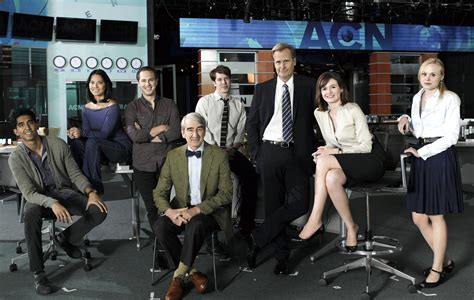 the room cast what to the newsroom of critique