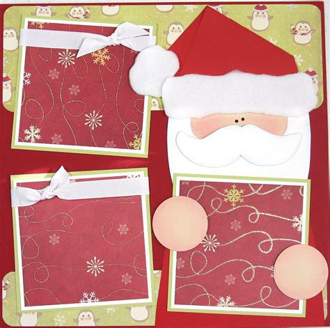 scrapbook layout christmas 12 x 12 premade scrapbooking layout christmas santa wish list