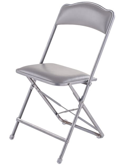 stylish folding chairs fritz style folding folding chair with silver frame