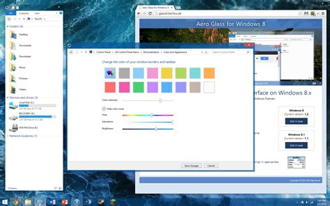 theme windows 8 1 aero get aero glass for windows 8 fully native by dakirby309