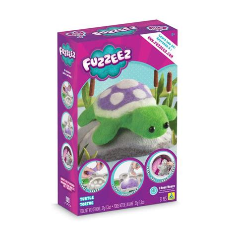 Fuzzeez Turtle 76511 the orb factory fuzzeez turtle