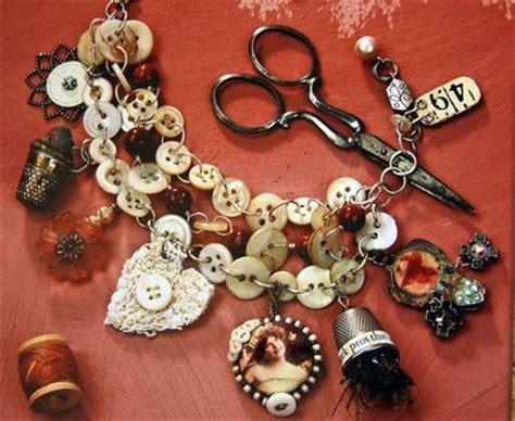 Handmade Button Jewellery - 17 best images about jewelry button jewelry on