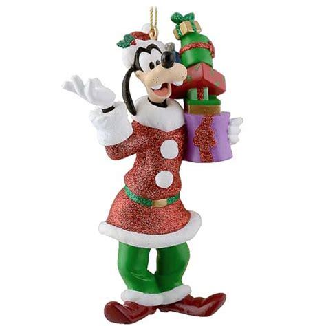 your wdw store disney christmas ornament santa goofy