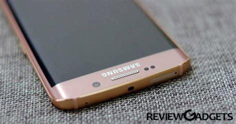 Original 100 Samsung Galaxy S7 Edge Pink Gold samsung galaxy s7 and s7 edge got a pink gold color