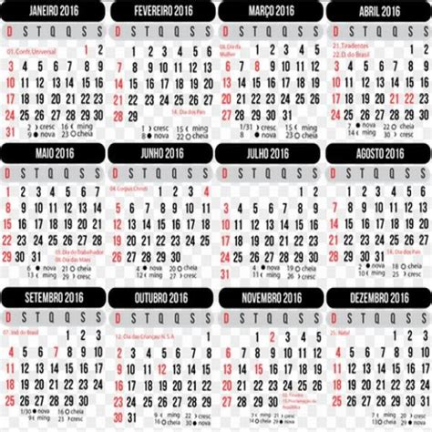 fases da lua 2016 para agricultura calend 225 rio 2016 para imprimir mundodastribos todas as