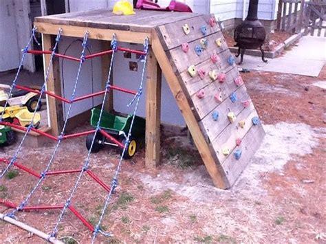 DIY Pallet Backyard Playground Ideas Pallets Designs