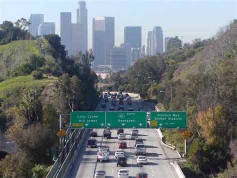 From Ca To La by A View For Downtown Los Angeles Skyline Skyscrapers And Ov