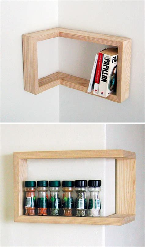 Shelf Save by Edge Cases 8 Space Saving Design Ideas For Inside Corners