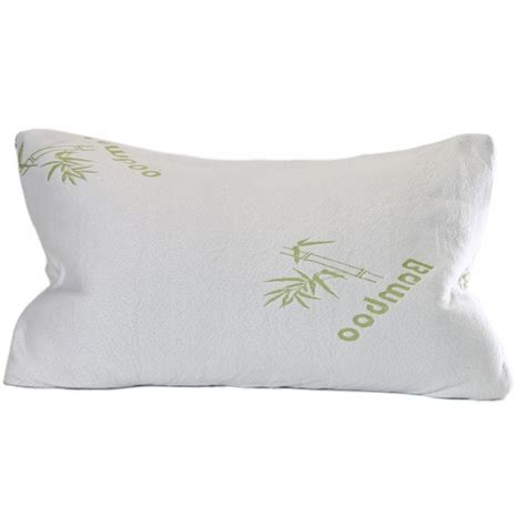 Memory Foam Bamboo Pillow by Shredded Memory Foam Bamboo Pillow With Inner Polyester Cover