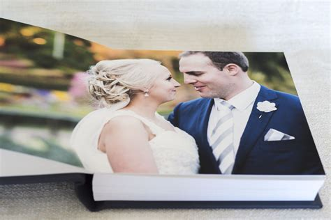 LEATHER WEDDING ALBUM WITH PERSONALISED EMBOSSING