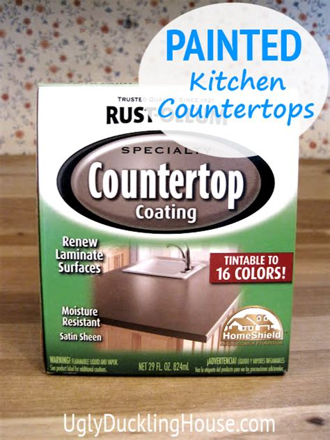 how to spray paint ugly laminate countertops home i painted my kitchen countertops the ugly duckling house