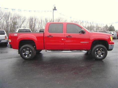 lifted gmc 1500 for sale well equipped 2008 gmc 1500 sle1 lifted for sale