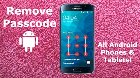pattern password disable free download how to remove password on android phone tablet