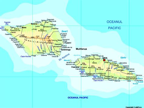 where is samoa on the map map of samoa maps worl atlas samoa map maps