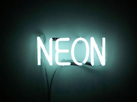 white neon light sign neon lights new creation inc