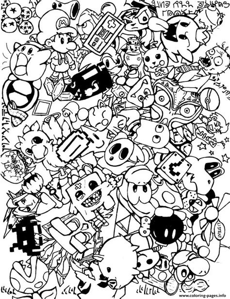 doodle 4 print out sheets doodle doodling 5 coloring pages printable