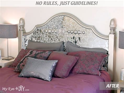 diy mirrored headboard myeye4diy com quot my eye for diy quot no rules just guidelines