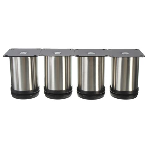 Stainless Steel Cabinet Legs by 4pcs Adjustable Cabinet Legs Stainless Steel Kitchen