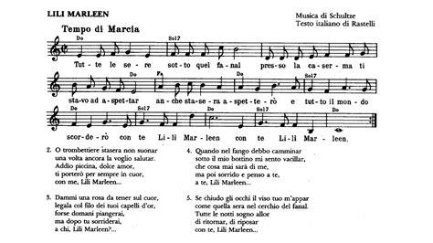 lili marlene testo italiano lili marleen testo in italiano fiori idea immagine