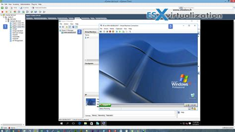 hyper v manager console windows server 2016 hyper v on vmware esx virtualization