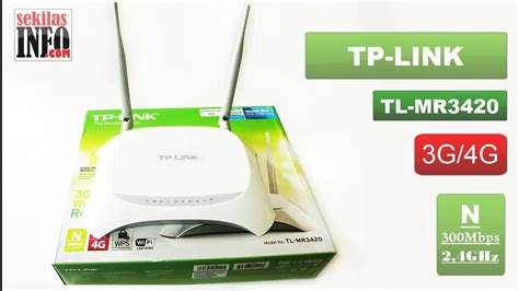 Harga Tp Link 3420 tp link tl mr3420 unboxing and review