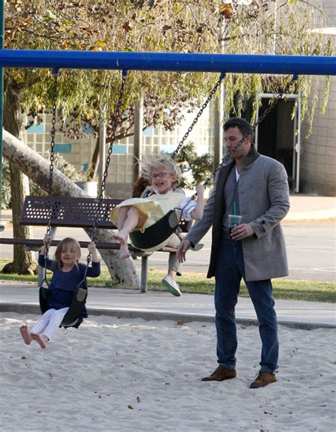 black time travel ben affleck ben affleck takes his two daughters seraphina and violet