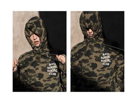 Jaket Zipper Hoodie Sweater Anti Social Club Anak Hitam bathing ape and anti social social club release lookbook and pricing
