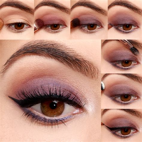 eyeshadow tutorial plum lulus how to navy and plum smokey eyeshadow tutorial