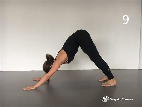 downward facing poses for beginners days to fitness