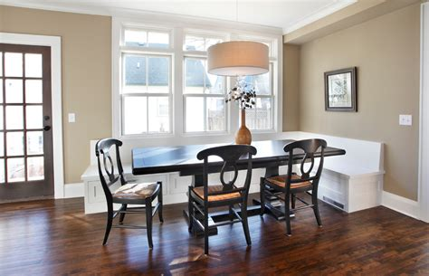elegant banquette bench innovative designs  dining room