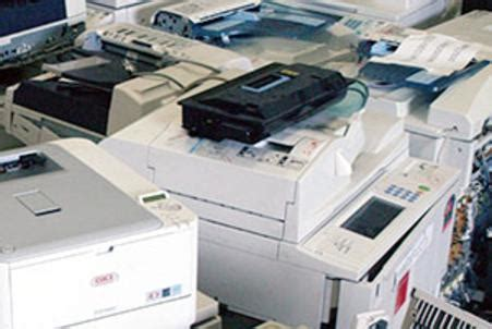 printer recycling printer removal electronics removal
