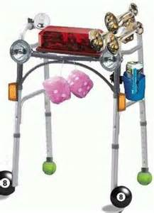Pimp my walker on pinterest wheelchairs walker bags and cup