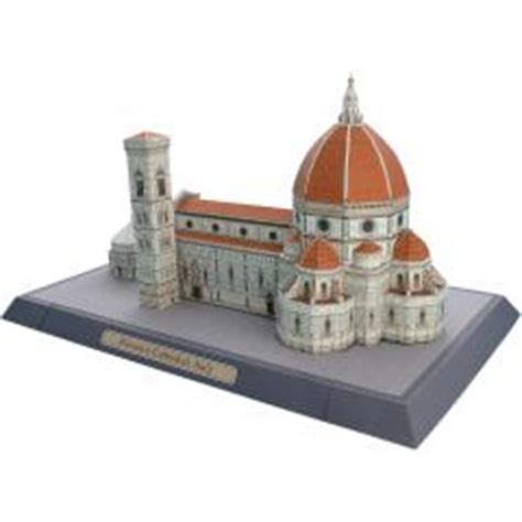 Creative Park Papercraft - florence cathedral italy europe architecture paper