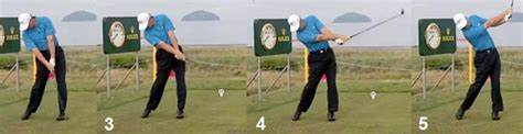 golf swing release how to achieve a proper release in the golf swing