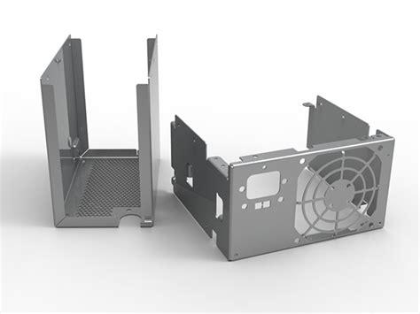 flat pattern drawing nx power supply casing 3d cad sheet metal on behance