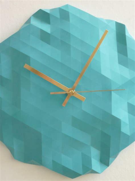 How To Make An Origami Clock - origami clock dezign feel desain