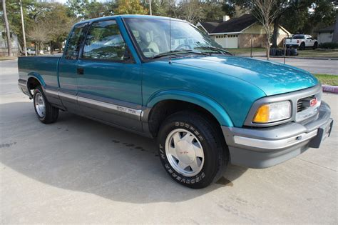1994 gmc sonoma sle extended cab pickup 4 3l excellent driver only 57k miles for sale in houston