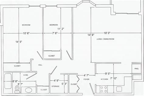 free printable house blueprints 1 4 scale furniture templates printable floor plan