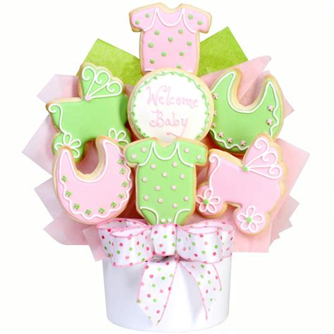 cookie bouquets it s a baby cookie bouquet gourmet cookie bouquets