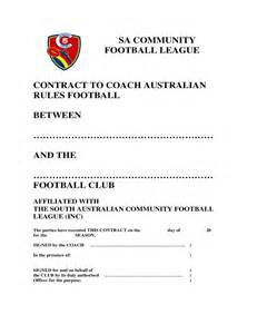 coaching contract template south australia free