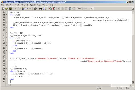 matlab for loop exle loops in matlab matlab lecture