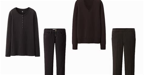 All Black Wardrobe by The Vivienne Files An Quot All Black Quot Capsule Wardrobe